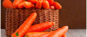 морковь овощ